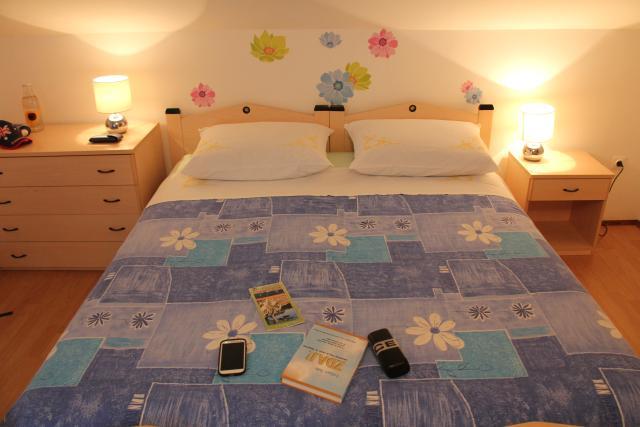 Apartmaji Irena, Otok Krk - spalnica 2